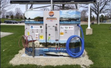 Boat Cleaning Stations Added to Parks