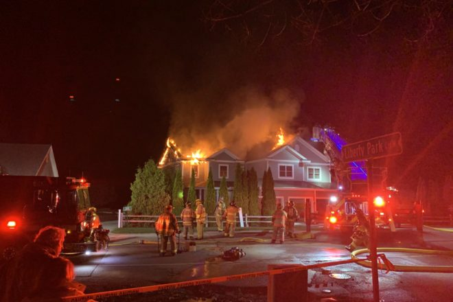 No Injuries in Sister Bay Condo Fire Saturday
