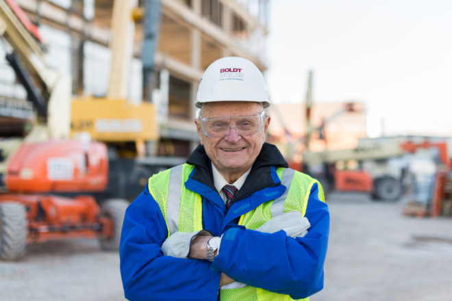 Oscar Boldt's Impact: Construction industry icon died June 9 at 96