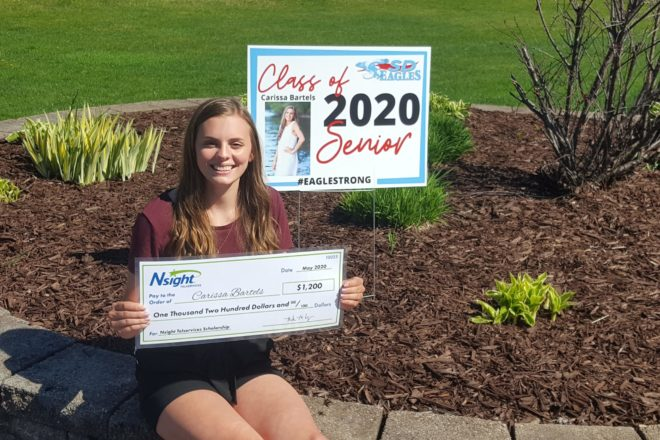Southern Door's Bartels Earns Nsight Teleservices Scholarship