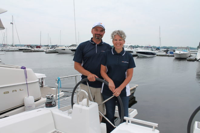 Wons Opens Door County base for SailTime Boat-Share Program