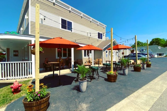 Sister Bay Bowl Adds Outdoor Seating