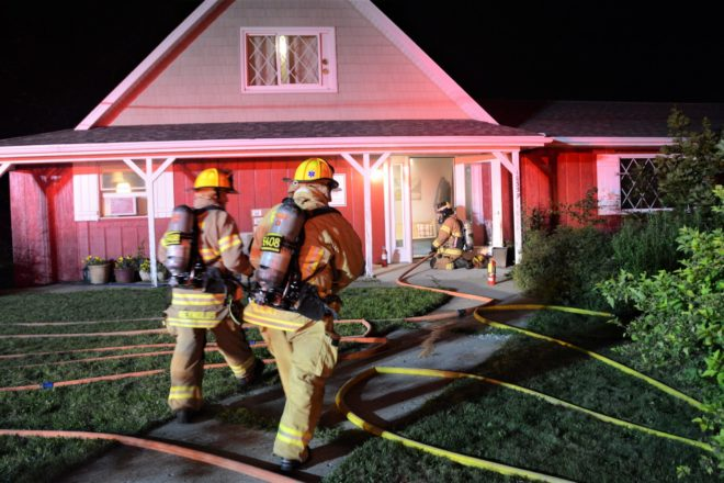 No Injuries from Structure Fire