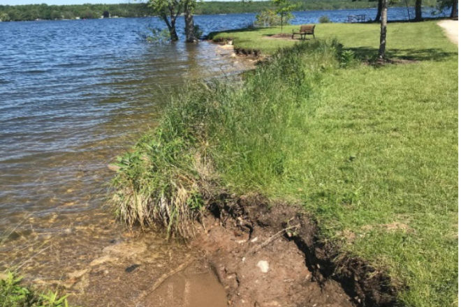 Sturgeon Bay Responds to Erosion in Sunset Park