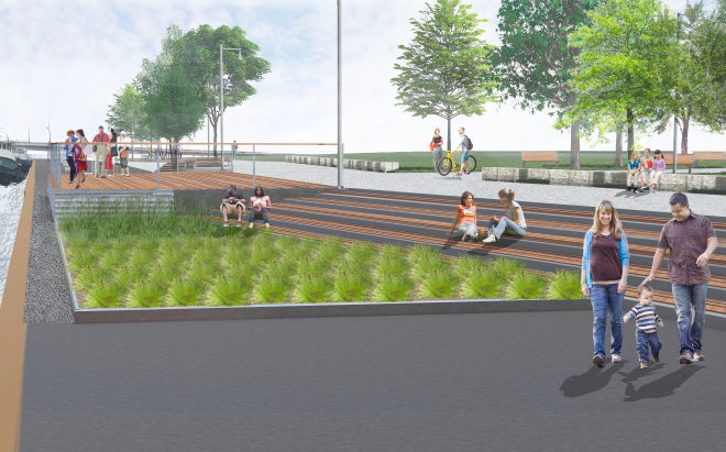 West Waterfront Promenade Project Awarded