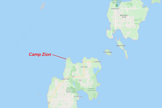 Camp Zion Sues for Right to Expand Facilities in Ellison Bay