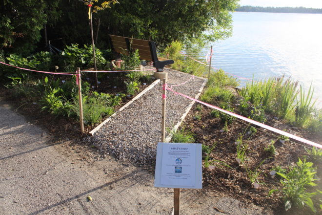 Shoreline Protection and Rehabilitation Project Installed at Clark Lake