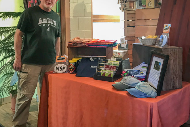 NWS to Sell Merchandise at Kick Ash Coffee
