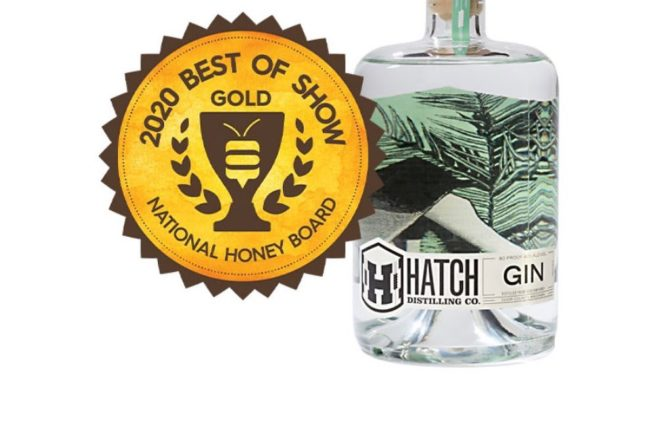 Hatch Distilling's Gin Takes Best in Show at Honey Spirits Competition