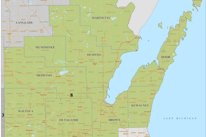 Public Hearing on Redistricting Maps for Congressional District 8