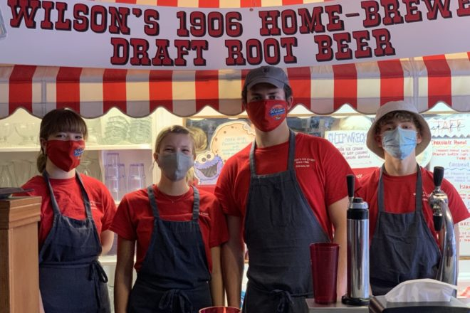 Servers of the Week: Rae Jungwirth, Adelle Carlisle, Dylan Weghaupt, Quentin Murre at Wilson's