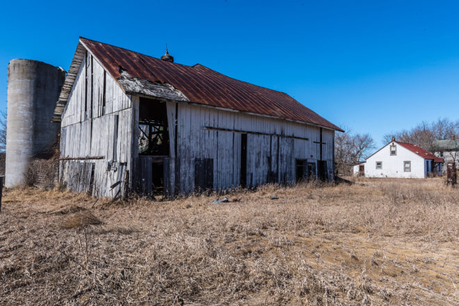 Blight Be Gone: Crumbling barns come down