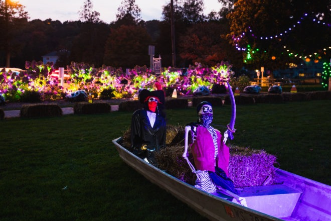 Sister Bay Celebrates Halloween with Park after Dark