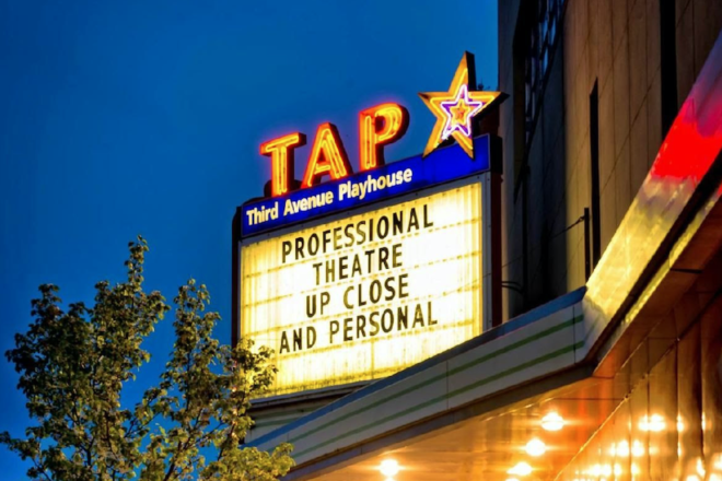 TAP Marquee Being Restored