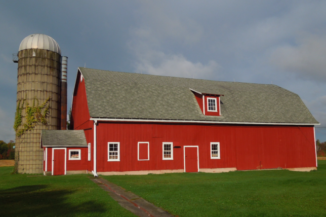 This Old Barn: The Kroll Barn: A Classic Red Barn in Egg Harbor