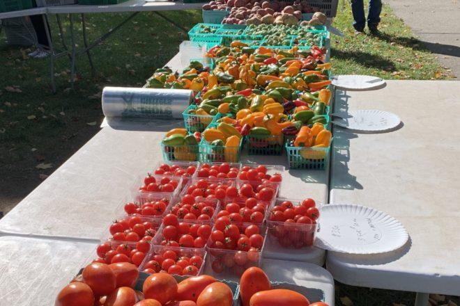 Settlement Farmers' Market Extended to Oct. 21