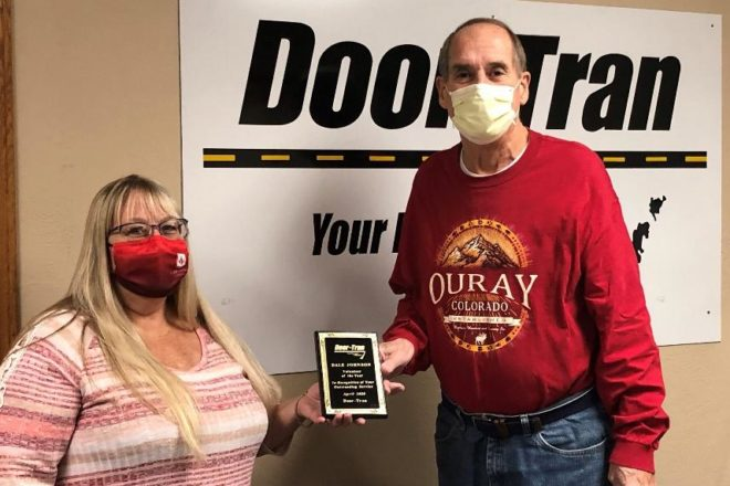 Door-Tran Honors Volunteer of the Year Dale Johnson