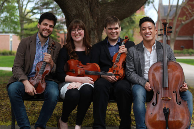 Griffon String Quartet to Present Virtual Programs