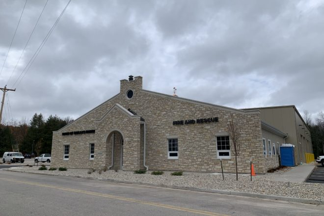 Baileys Harbor Fire Station Open House April 24