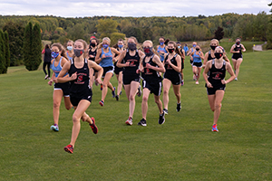 Sevastopol's girls cross country team excelled in a year that looked much different for prep athletes. The Pioneers advanced to the state meet. Submitted.