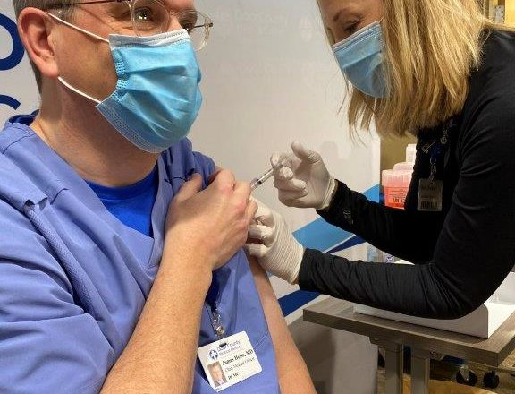 Local Vaccine Rollout Underway