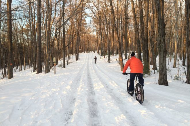 Bike This: Skyline Road to Sven's Bluff (Even in Winter)