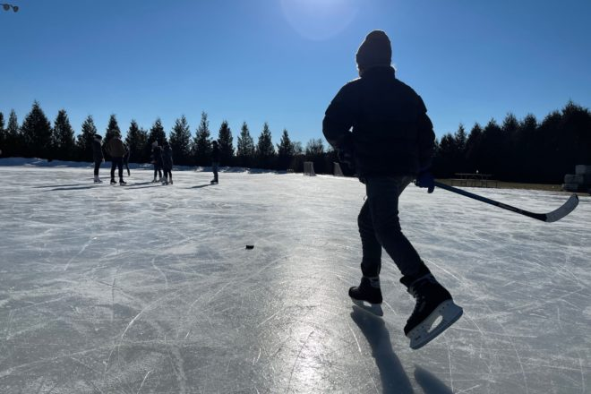 Skate This: Teresa K. Hilander Community Ice Rink