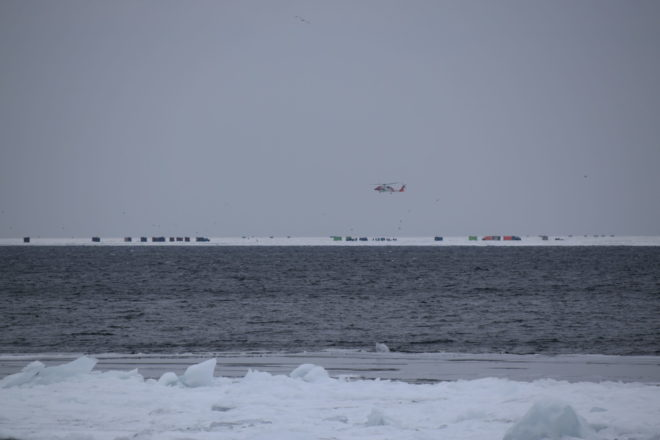 Update: 66 Total People Rescued from Ice Floes North of Sturgeon Bay