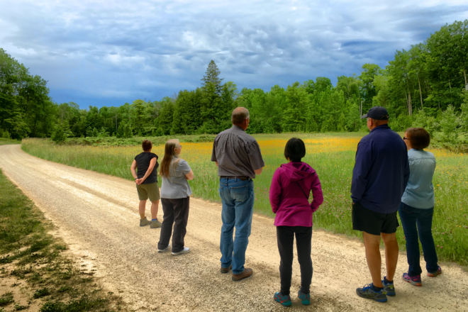 Docent-Led Hiking Tours Begin at The Clearing Folk School