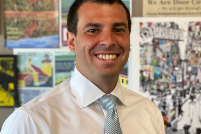 U.S. Senate Candidate Alex Lasry Visits Door County