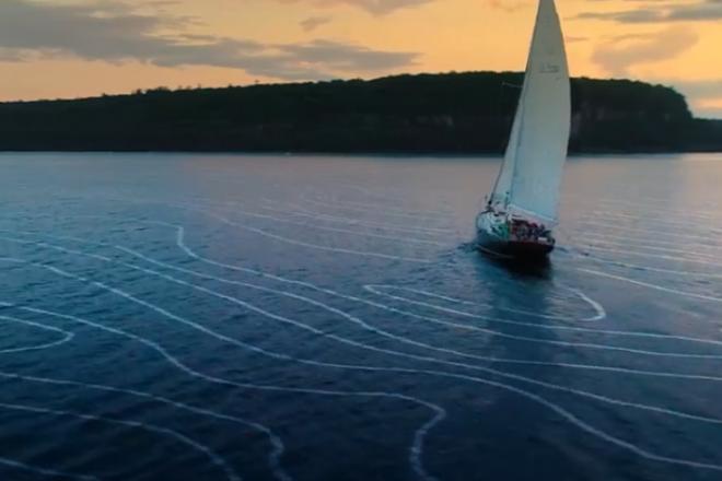 VIDEO: Sailing Door County