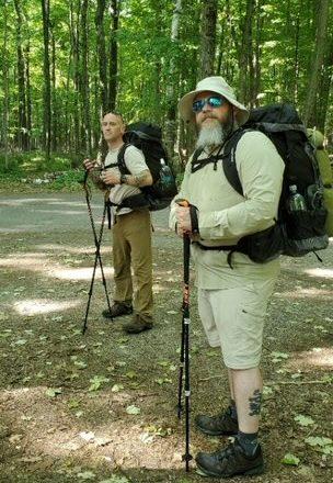 Veteran Takes On Ice Age Trail