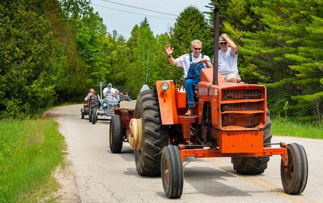 Curiosities: The Freddie K. B.S. Tractor Ride