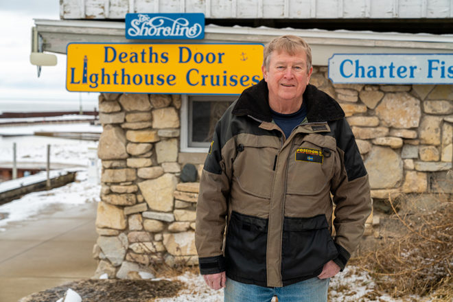 The Tales of Captain Robbo: Jim Robinson loves life floating over Death's Door