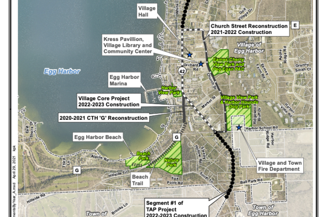 Informational Meetings Coming for Egg Harbor Highway Project