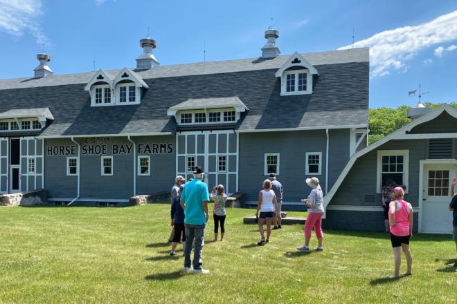 Tour Season Open at Horseshoe Bay Farms