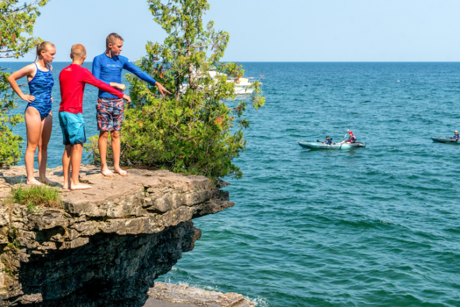 Explore Safely at Cave Point County Park