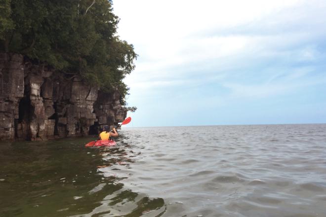 Paddle Garrett Bay