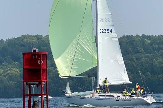 Ephraim Yacht Club Team Wins 100 Miler