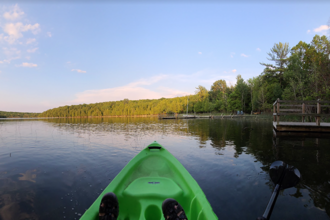 Kayak Little Lake