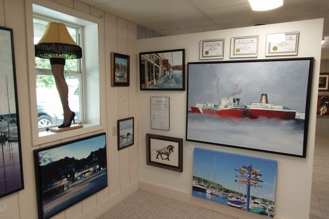 A New Home for Fine Art: Jim Riead establishes Door County Arts Guild Gallery