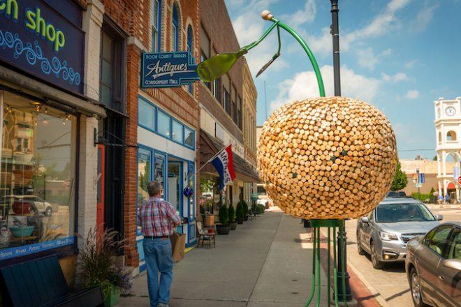 Cherries Jubilee Celebrates 21 Years of Public Art in Sturgeon Bay