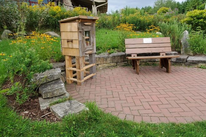 Crossroads Adds Little Free Library