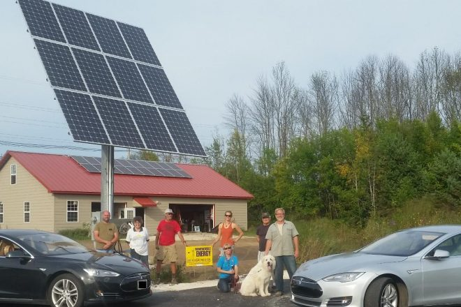 Archaeological Dig, Solar Tour at Crossroads