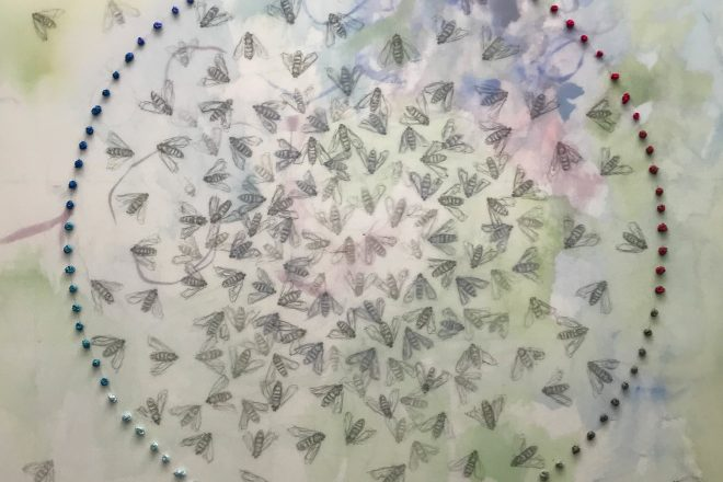Bees in the Mist: The delicate, layered works of Shan Bryan-Hanson